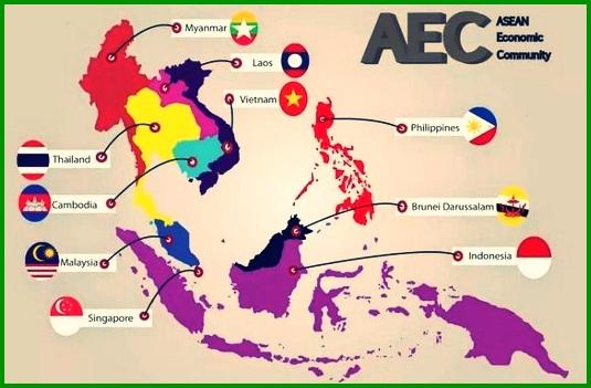 Peta Asia Tenggar
