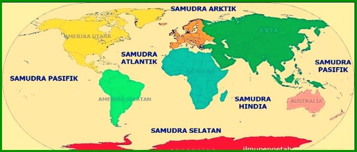 Peta Benua Dunia