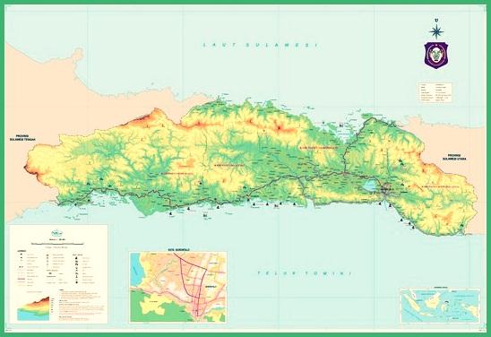 Peta Gorontalo