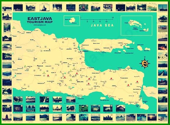 Peta Jawa Timur Lengkap