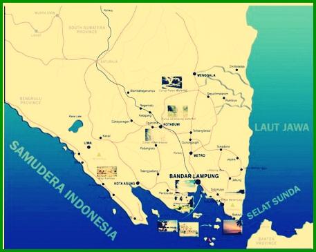 Peta Lampung Resuolusi Tinggi