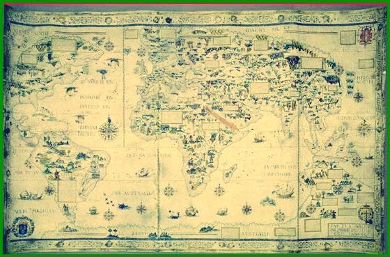 Peta Tahun 1550