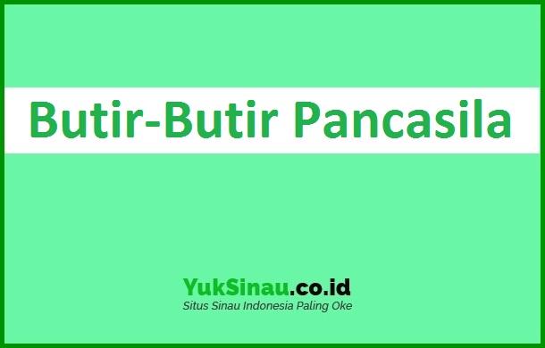 Butir Butir Pancasila
