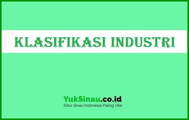 Klasifikasi Industri