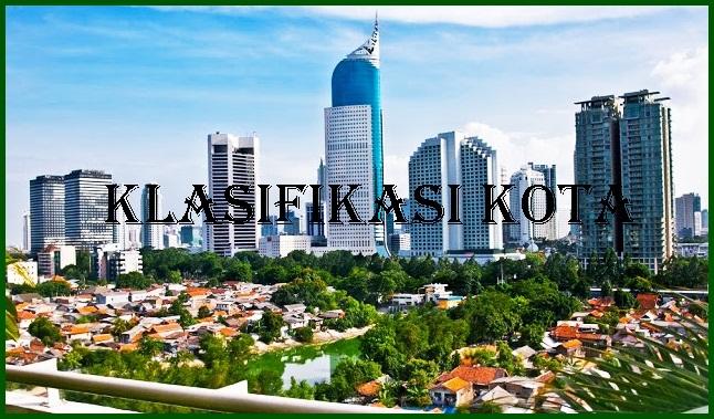 Klasifikasi Kota