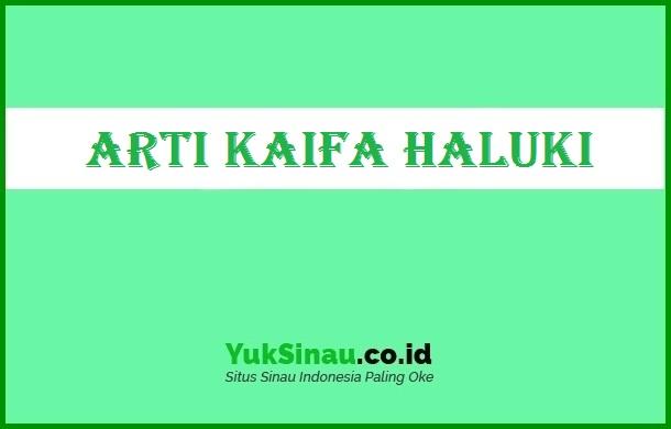 Kaifa Haluki