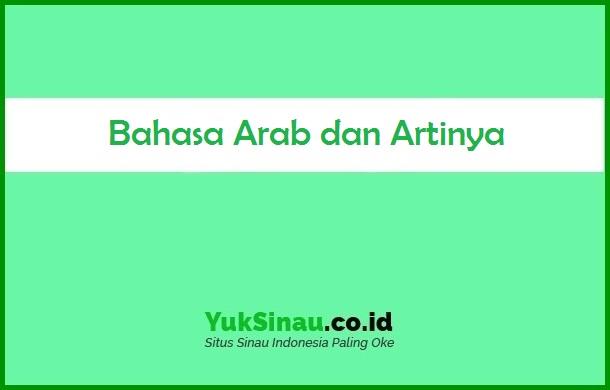 Bahasa Arab dan Artinya