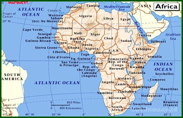 Negara Berkembang di Benua Afrika
