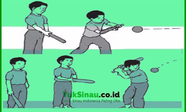Teknik Dasar dalam Permainan Bola Kasti