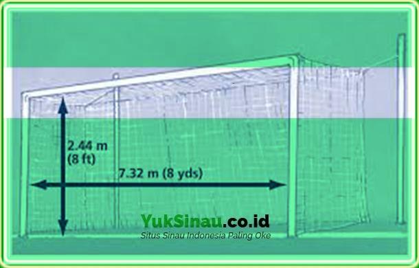 Ukuran Gawang dari Standar Sepak Bola