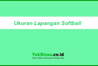 Ukuran Lapangan Softball