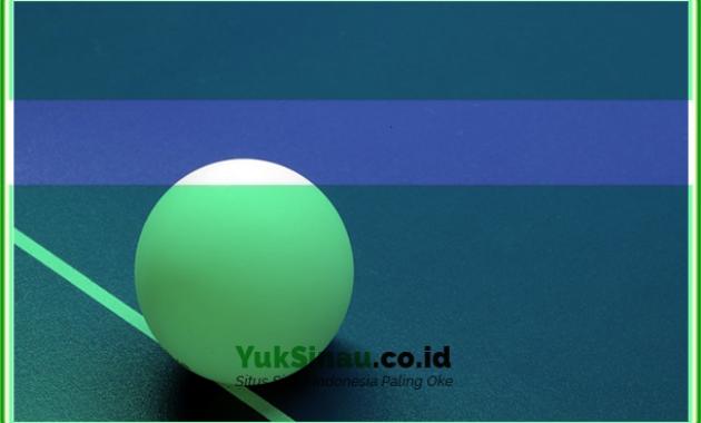 Ukuran dan Bentuk Bola Tenis Meja