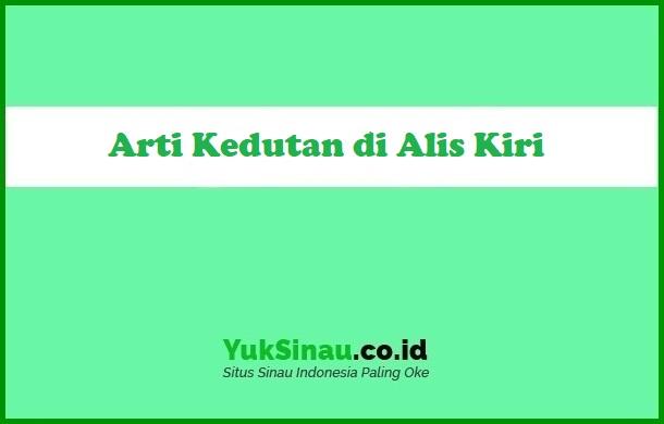 Arti Kedutan di Alis Kiri