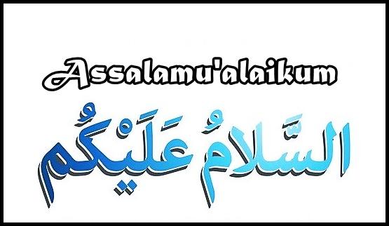 Kaligrafi Assalamualikum