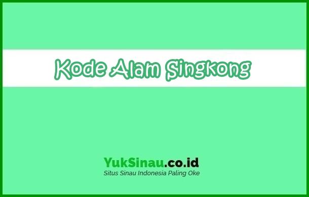 Kode Alam Singkong