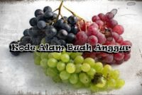 Kode Alam Buah Anggur