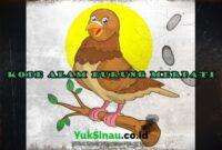 Kode Alam Burung Merpati