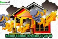 Nomor Rumah Terbakar