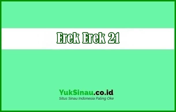 Erek Erek 21