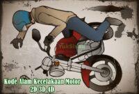 Kode Alam Kecelakaan Motor