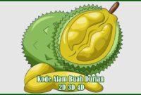 Kode Alam Buah Durian