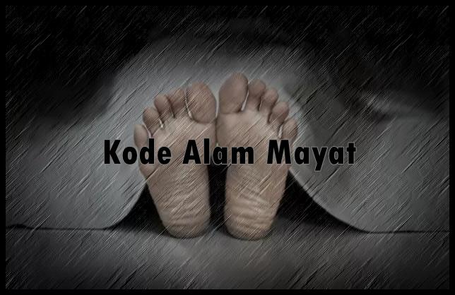 Kode Alam Mayat