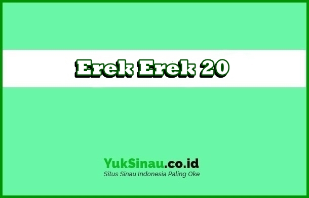 Erek Erek 20