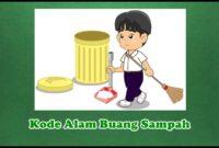 Kode Alam Buang Sampah